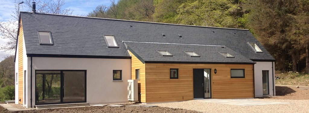 ACJ Group - house built with k-rend and cladding