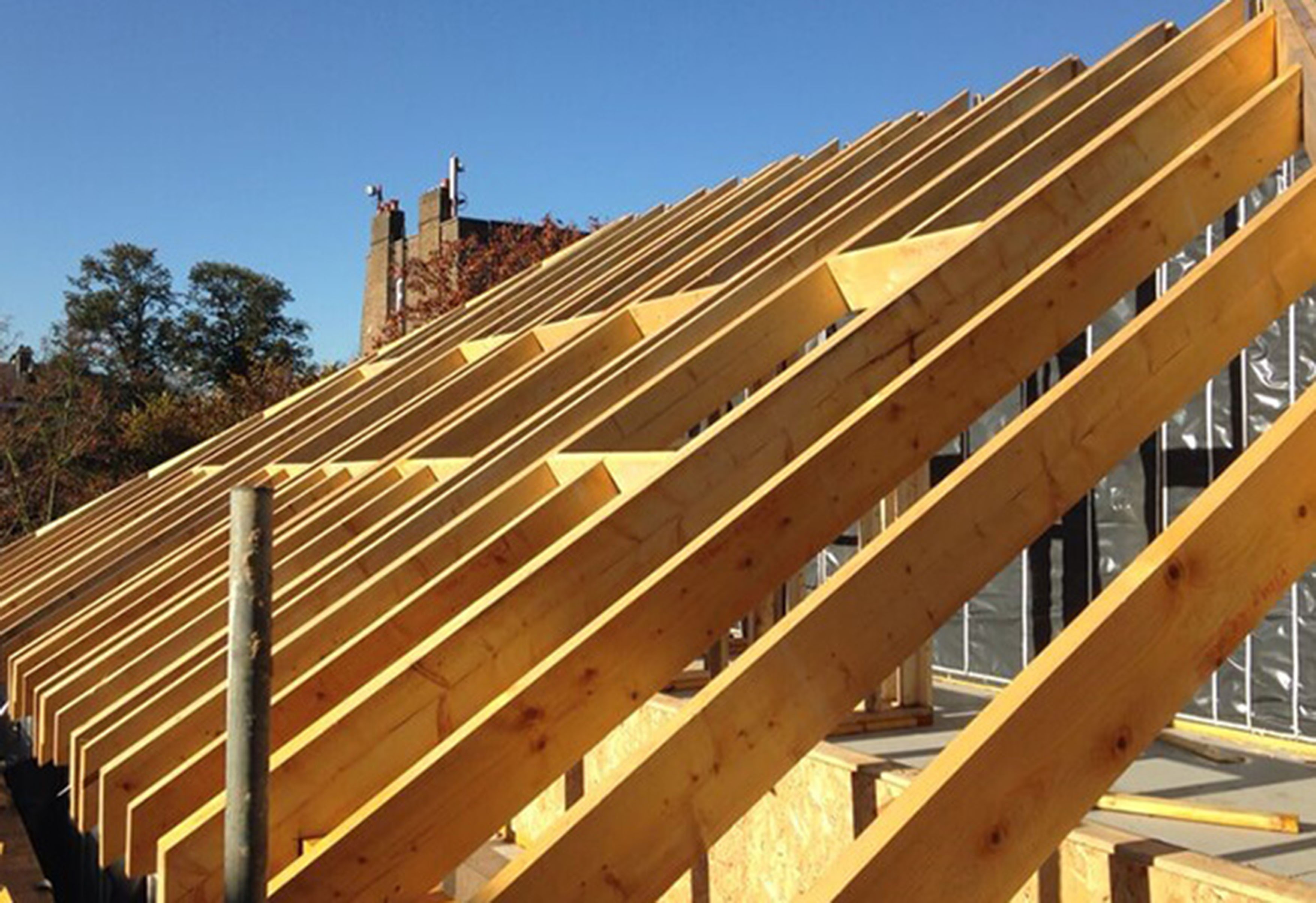Solid Timber Rafters Acj Group