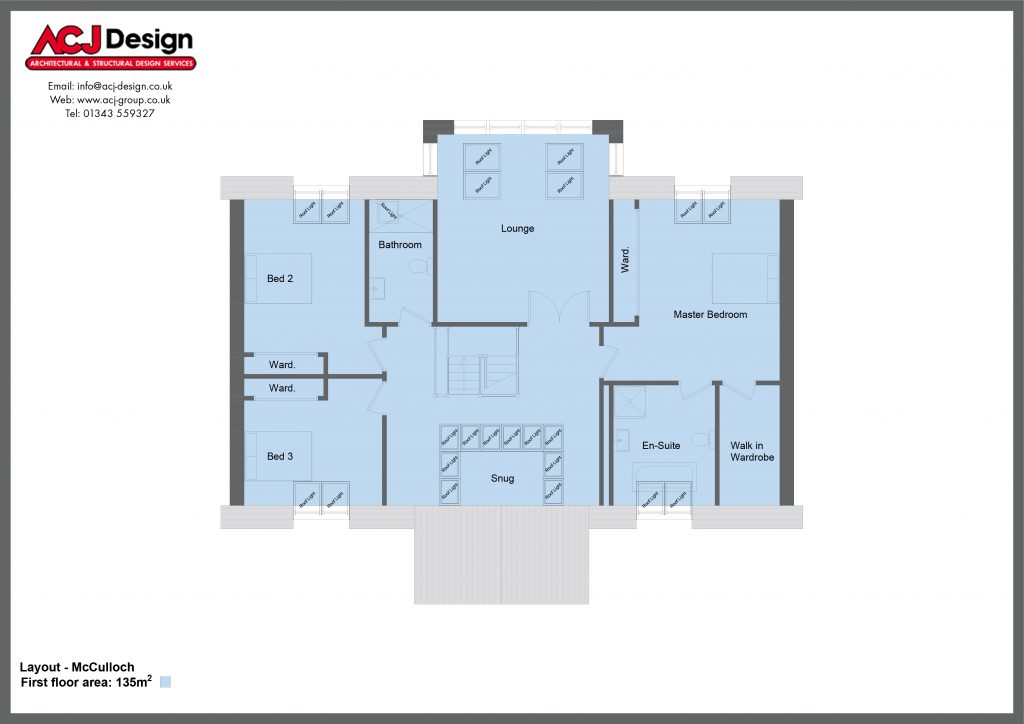 McCulloch First Floor Plan With Border