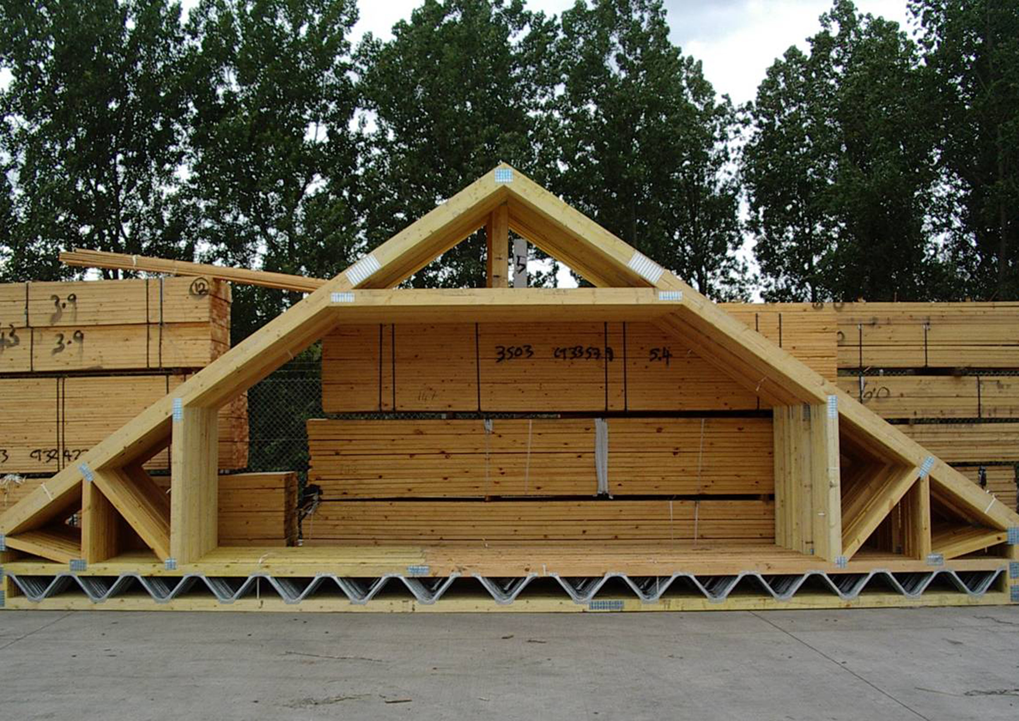 Attic Truss Acj Group
