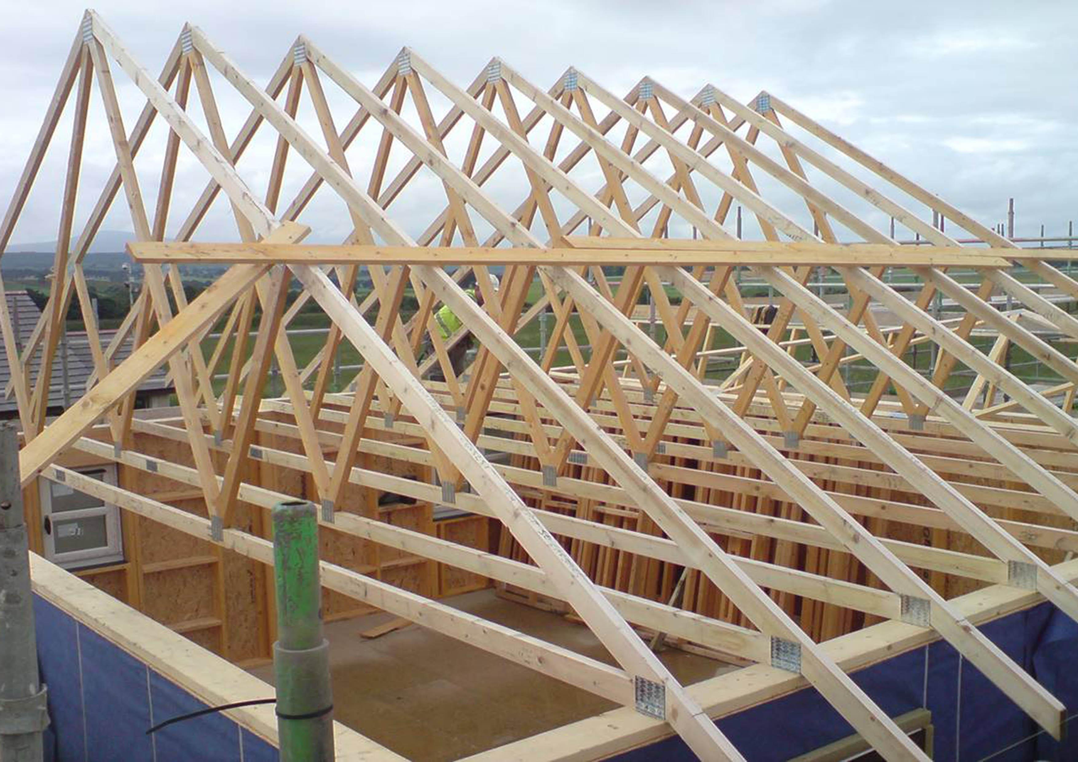 Standard Roof Truss | ACJ Group