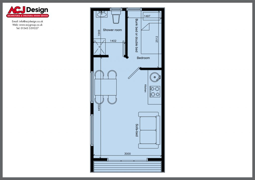 POD Floor plan