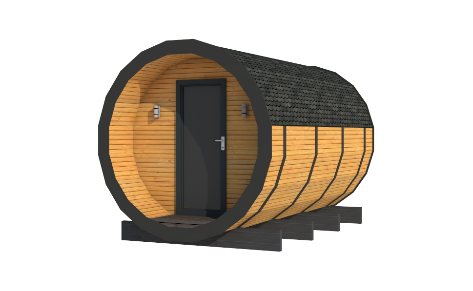 Glamping Pods - The Morar - Front