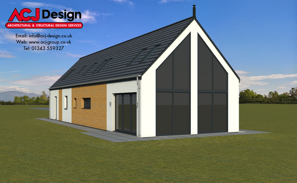 Barra - 3D Render Gable Elevation
