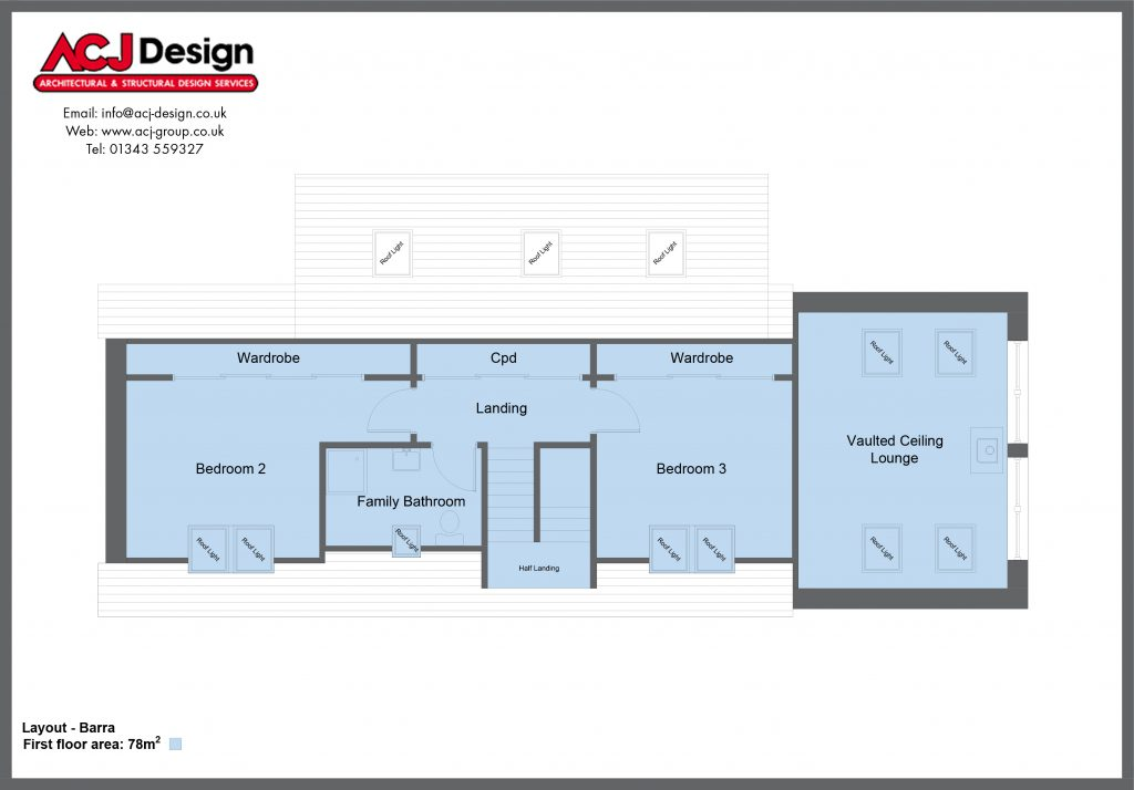 Barra - First Floor Layout