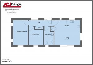 70m2 - Balta Floor Plan