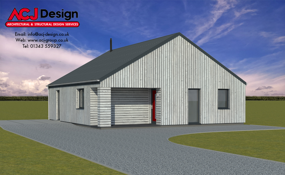 78m2 - Luing front Elevation