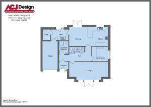 190m2 - Lesley - Ground Floor Plan
