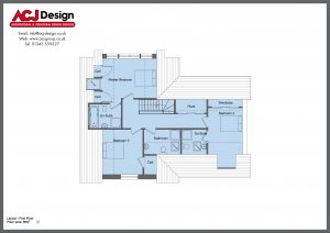 206m2 - Oliver - First Floor Plan